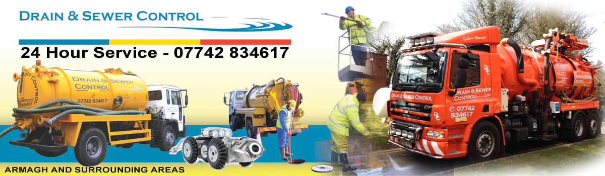 Drain and sewer unblocking and cleaning in the Armagh